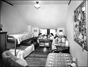 MU Dormitory Room, 1937 38. Part 57