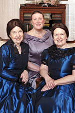 (From left) Jane Cox, Mary Creswell and Sue Haug