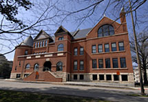 Morrill Hall dedication