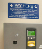 Parking pay station
