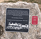 Plaque marks birthplace of Extension
