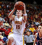 Cyclone guard Heather Ezell