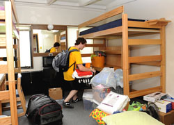 Move-in at Wilson Hall
